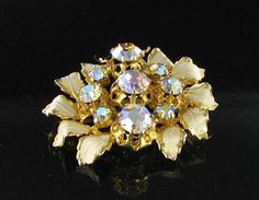 Hey, I found this really awesome Etsy listing at https://www.etsy.com/listing/197635864/austria-vintage-signed-flower-brooch
