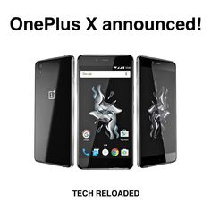 Uhm... yes... I'm back. Sorry. HOWEVER! OnePlus has announced its newest smartphone. The OnePlus X. This may not be the fagship killer of 2016 (;D) but it will be the middle-class killer of 2015! Why? You get almost high-end specs of 2014 and 2015 for crazy $249!  The X packs a nice 5 inch 1080p display with a pixel density of 441 ppi. It is an AMOLED panel.  There is Android Lollipop with Oxygen OS pre-installed on it but there will be a Marshmallow update soon. Yay.  The SoC is the…