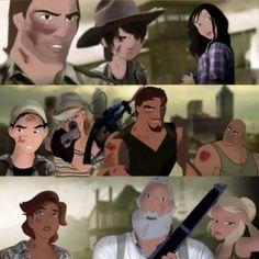 If Disney Did The Walking Dead