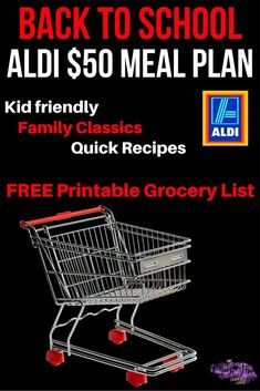 Get the price of dinner under control with this ALDI dinner plan. One week of… Frugal Meals, Budget Meals, Quick Easy Meals, Budget Recipes, Easy Recipes, Freezer Meals, Aldi Recipes, Cheap Recipes, Oven Recipes