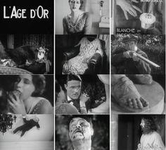 "Luis Bunuel stills from ""L'Age d'Or"""