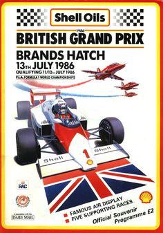 429GP - XXXIX British Grand Prix 1986
