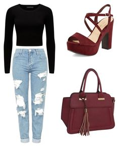 """Untitled #1"" by selma-366 ❤ liked on Polyvore featuring New Look, Forever New, Rebecca & Rifka and Topshop"