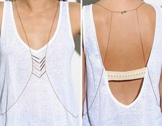 Body necklaces are my new favorite thing..
