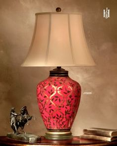 red lamps for bedroom