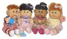 Kids 80s cabbage patch