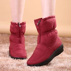 Find More Women's Boots Information about 2016 Autumn Winter Warm Snow Boots Waterproof Women Ankle Boots Thermal Flat Slip resistant Fashion Casual Cotton Shoes Woman,High Quality boot shoe boxes,China boots shoes cheap Suppliers, Cheap shoe stretchers for boots from LeiShu E-Commerce Co., Ltd Store on Aliexpress.com