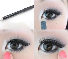 How To Apply The White Kohl Pencil - Style Hunt World | Makeup Tutorials | Home Remedies | Eyeliner Tips