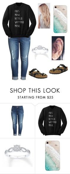 """""""Untitled #222"""" by shyclaire ❤ liked on Polyvore featuring Melissa McCarthy Seven7, Gray Malin and Birkenstock"""