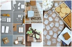 Cutout Cardboard Stamp | 30 Adorable And Unexpected DIY Stamp Projects