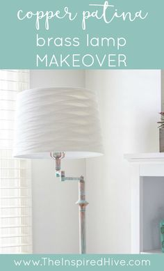 DIY Brass lamp makeo