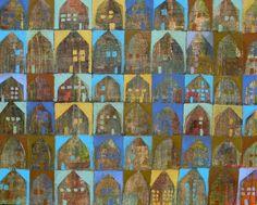 Saatchi Online Artist: Scott Bergey; Mixed Media, 2012, Painting Subdivisions