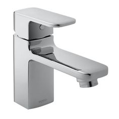 Toto Upton Single Hole 1-Handle Bathroom Faucet in Polished Chrome (Grey)