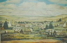 Old Adaminaby before it was flooded by Lake Eucumbene