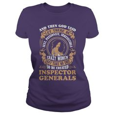 INSPECTOR GENERALS God said woman #gift #ideas #Popular #Everything #Videos #Shop #Animals #pets #Architecture #Art #Cars #motorcycles #Celebrities #DIY #crafts #Design #Education #Entertainment #Food #drink #Gardening #Geek #Hair #beauty #Health #fitness #History #Holidays #events #Home decor #Humor #Illustrations #posters #Kids #parenting #Men #Outdoors #Photography #Products #Quotes #Science #nature #Sports #Tattoos #Technology #Travel #Weddings #Women