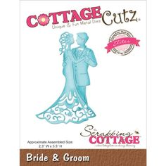 CottageCutz Elites Die Cuts, 2.3 by 3.5-Inch, Bride and Groom CottageCutz http://www.amazon.com/dp/B00K05R7H4/ref=cm_sw_r_pi_dp_7gLUvb0AMNKEF