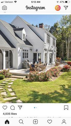 69 best cape cod style houses images exterior homes cape cod rh pinterest com Garrison Style House Cape Cod Style House Interior