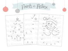 Happiness Moment: .. Printable - Activités de Noël pour enfants {Partie 1} ..