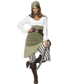 disfraz pirata mujer Shipmate Sweetie Pirate Womens Costume | ALL WOMENS