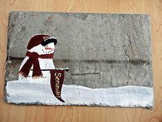 Florida State Seminoles FSU  snowman sign personalized by kpdreams, $22.00