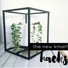 THE NEW KMART HACKS: ROUND THREE. Love this pot plant makeover.