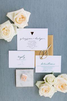 minimal modern stationery | Wedding invitations | Wedding stationery | #wedding #weddinginvitations #invitations #savethedate | www.starlettadesigns.com