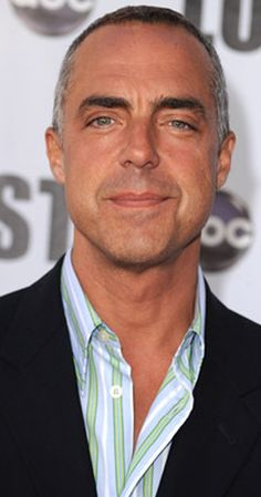 Titus Welliver as LAPD Detective Harry Bosch on Bosch.