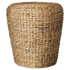 Threshold™ Woven Water Hyacinth Drum Table #Target
