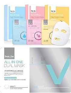 Hushu Premium Korean Facial Mask Introduction Set ,4 Sheets >>> Read more  at the image link.