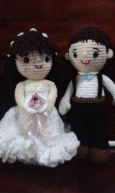 Wedding Doll, Teddy Bear, Dolls, Animals, Boyfriends, Amigurumi, Baby Dolls, Animales, Animaux