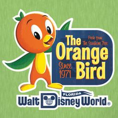 I never got to go to Disney World as a kid, but I'm sure if I did I would have loved the orange bird! Looking forward to trying out the citrus swirl :)