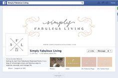 Logo and Blog Design :: Simply Fabulous Living