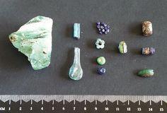 Kaupang glass beads