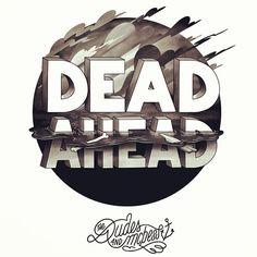 #illustration #sepia #circle #dead #ahead Dead ahead