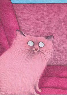 Pink cat - Karsten Teich