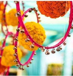 Trendy wedding decoracion on a budget indian Ideas Hanging Wedding Decorations, Wedding Decorations On A Budget, Diwali Decorations, Festival Decorations, Flower Decorations, Mehendi Decor Ideas, Mehndi Decor, Diy On A Budget, Decorating On A Budget