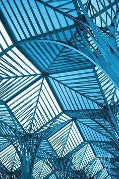"tapist: ""Carlos Caetano - Architecture Design Santiago Calatrava,Oriente Station, Lisbon."""