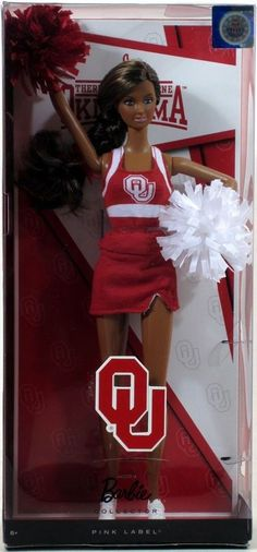 BARBIE COLLECTOR UNIVERSITY OF OKLAHOMA AFRICAN-AMERICAN DOLL 2012 Mattel NEW   eBay