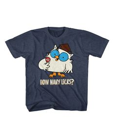 Look at this Tootsie Roll Pop 'How Many Licks' Tee - Kids on #zulily today!