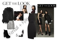 """Kendall & Kylie"" by jessiadreina on Polyvore featuring moda, Topshop, PacSun, Kendall + Kylie, Tom Ford, New Look, GetTheLook y celebritysiblings"
