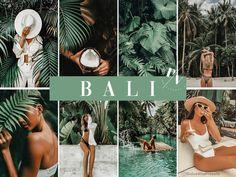 Bali 3 Exotic Mobile Lightroom Presets Green VSCO | Etsy Vsco Presets, Lightroom Presets, Bali, Photo Editing Vsco, Camera Settings, Exotic, Mobile Mobile, Installation Instructions, Instagram