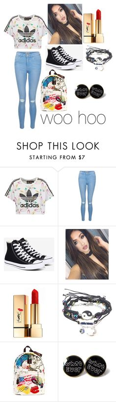 """Untitled #127"" by willowsong25 on Polyvore featuring adidas Originals, New Look, Converse, Yves Saint Laurent and Marc Jacobs"