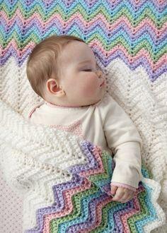 Baby Chevron Blanket
