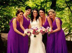 Bridesmaids wear M521 by Truebride