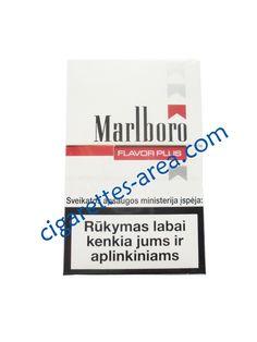 MARLBORO FLAVOR PLIUS cigarettes