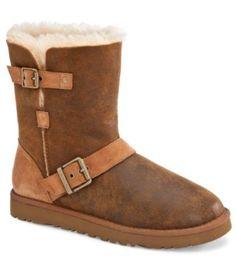 UGG Australia Womens Classic Short Dylyn Boots | http://Dillards.com
