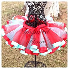 Couture Handmade Super Full Pettiskirt for Infants To Tweens - Gorgeous Custom Valentine Tutu on Etsy, $45.00
