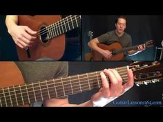 ▶ Classical Gas Guitar Lesson - Mason Williams - Part One - YouTube - bucket list!! I can do the first 8 seconds!