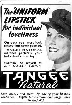 On duty you must look smart - never painted. WW2.    Then as now ......  Lipstick can help define women from men !    hahahaha