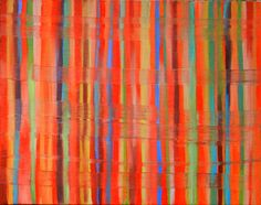 "Saatchi Online Artist: Aida Markiw; Oil, 2012, Painting ""Magic Carpet I"""